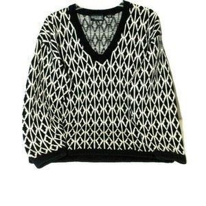 VTG Nordstrom 100% Wool Sweater M Unisex